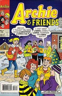 Cover Thumbnail for Archie & Friends (Archie, 1992 series) #27