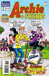 Cover Thumbnail for Archie & Friends (Archie, 1992 series) #61 [Direct Edition]