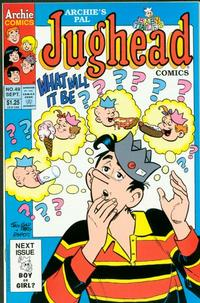 Cover Thumbnail for Archie's Pal Jughead Comics (Archie, 1993 series) #49