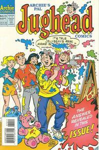 Cover Thumbnail for Archie's Pal Jughead Comics (Archie, 1993 series) #72