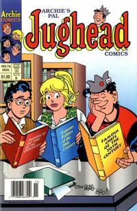 Cover Thumbnail for Archie's Pal Jughead Comics (Archie, 1993 series) #74