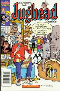 Cover for Archie's Pal Jughead Comics (Archie, 1993 series) #107