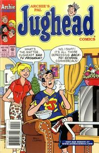 Cover Thumbnail for Archie's Pal Jughead Comics (Archie, 1993 series) #110