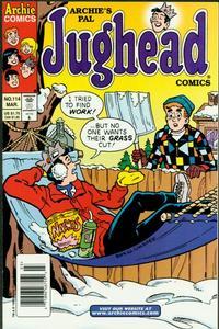 Cover Thumbnail for Archie's Pal Jughead Comics (Archie, 1993 series) #114