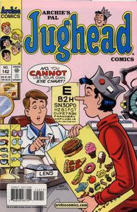 Cover Thumbnail for Archie's Pal Jughead Comics (Archie, 1993 series) #142