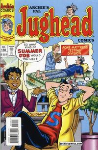 Cover Thumbnail for Archie's Pal Jughead Comics (Archie, 1993 series) #150