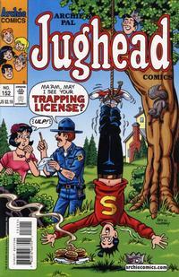 Cover Thumbnail for Archie's Pal Jughead Comics (Archie, 1993 series) #152