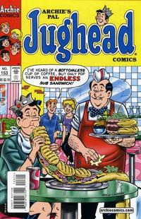 Cover Thumbnail for Archie's Pal Jughead Comics (Archie, 1993 series) #153