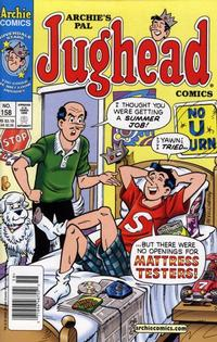 Cover Thumbnail for Archie's Pal Jughead Comics (Archie, 1993 series) #158
