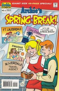 Cover Thumbnail for Archie's Spring Break (Archie, 1996 series) #2