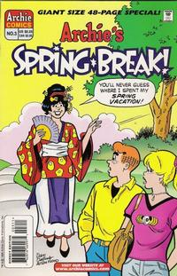 Cover Thumbnail for Archie's Spring Break (Archie, 1996 series) #3