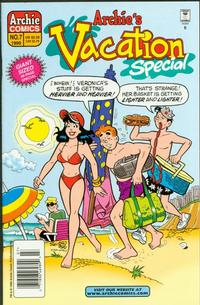 Cover Thumbnail for Archie's Vacation Special (Archie, 1994 series) #7