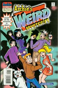 Cover Thumbnail for Archie's Weird Mysteries (Archie, 2000 series) #1