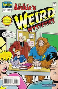 Cover Thumbnail for Archie's Weird Mysteries (Archie, 2000 series) #10