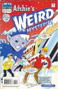 Cover Thumbnail for Archie's Weird Mysteries (Archie, 2000 series) #11