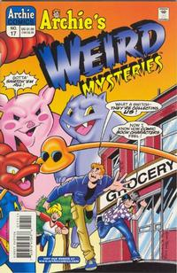 Cover for Archie's Weird Mysteries (Archie, 2000 series) #17