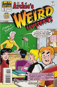 Cover Thumbnail for Archie's Weird Mysteries (Archie, 2000 series) #20