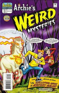 Cover for Archie's Weird Mysteries (Archie, 2000 series) #23