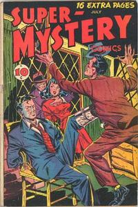 Cover Thumbnail for Super-Mystery Comics (Ace Magazines, 1940 series) #v6#6