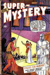 Cover Thumbnail for Super-Mystery Comics (Ace Magazines, 1940 series) #v8#5