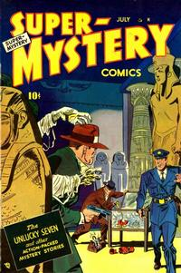 Cover Thumbnail for Super-Mystery Comics (Ace Magazines, 1940 series) #v8#6