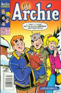 Cover Thumbnail for Archie (Archie, 1959 series) #482