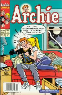 Cover Thumbnail for Archie (Archie, 1959 series) #484
