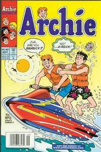 Cover Thumbnail for Archie (Archie, 1959 series) #487