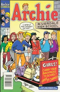 Cover Thumbnail for Archie (Archie, 1959 series) #489