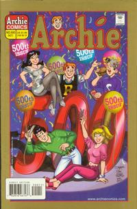 Cover Thumbnail for Archie (Archie, 1959 series) #500