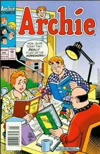 Cover for Archie (Archie, 1959 series) #503