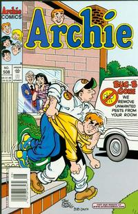 Cover Thumbnail for Archie (Archie, 1959 series) #508