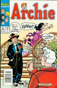 Cover Thumbnail for Archie (Archie, 1959 series) #509 [Newsstand]