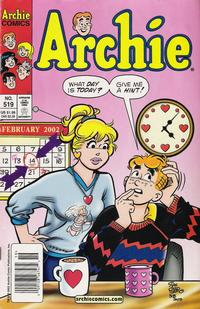 Cover Thumbnail for Archie (Archie, 1959 series) #519