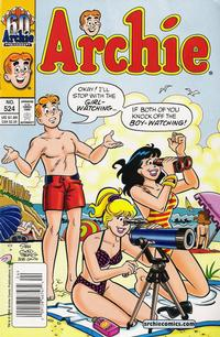 Cover for Archie (Archie, 1959 series) #524
