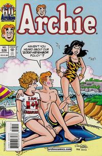 Cover Thumbnail for Archie (Archie, 1959 series) #526