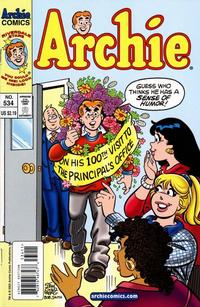Cover Thumbnail for Archie (Archie, 1959 series) #534