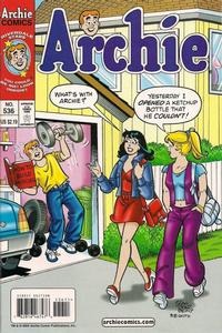 Cover Thumbnail for Archie (Archie, 1959 series) #536