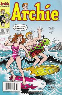 Cover Thumbnail for Archie (Archie, 1959 series) #537