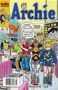 Cover Thumbnail for Archie (Archie, 1959 series) #538 [Newsstand]