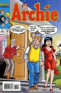 Cover Thumbnail for Archie (Archie, 1959 series) #539
