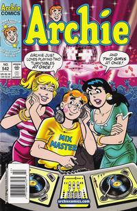 Cover Thumbnail for Archie (Archie, 1959 series) #542