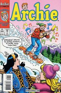 Cover Thumbnail for Archie (Archie, 1959 series) #544