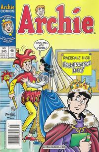 Cover Thumbnail for Archie (Archie, 1959 series) #545