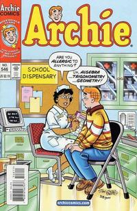 Cover Thumbnail for Archie (Archie, 1959 series) #546