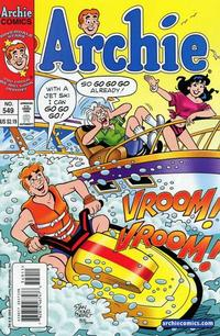 Cover Thumbnail for Archie (Archie, 1959 series) #549