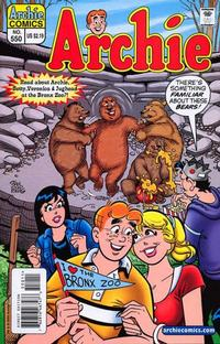 Cover Thumbnail for Archie (Archie, 1959 series) #550