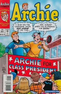 Cover Thumbnail for Archie (Archie, 1959 series) #551