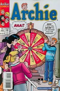 Cover Thumbnail for Archie (Archie, 1959 series) #552