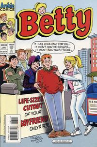 Cover Thumbnail for Betty (Archie, 1992 series) #93